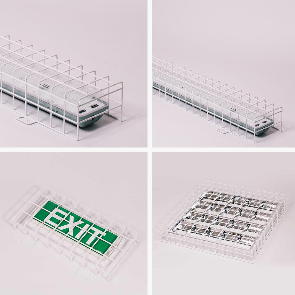 Schutzgitter für Lichtbalken Ballwurfgitter